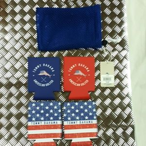 American Golfer Beverage Sleeve set